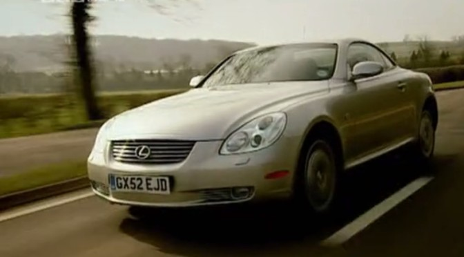 Top Gear 02-03: Lexus SC430