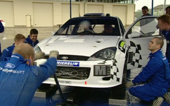 Top Gear 02-05: Ford Rally Team vs Girls
