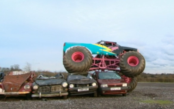 Top Gear 04-02: Can a nun drive a monster truck?