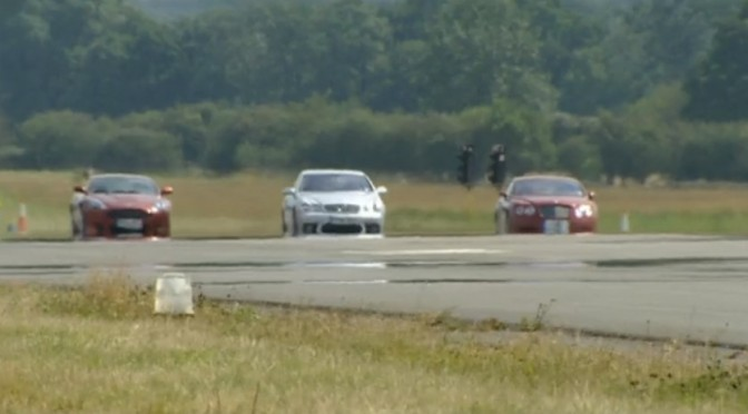 Top Gear 04-07: Mercedes-Benz CL65 AMG vs Bentley Continental GT vs Aston Martin DB9