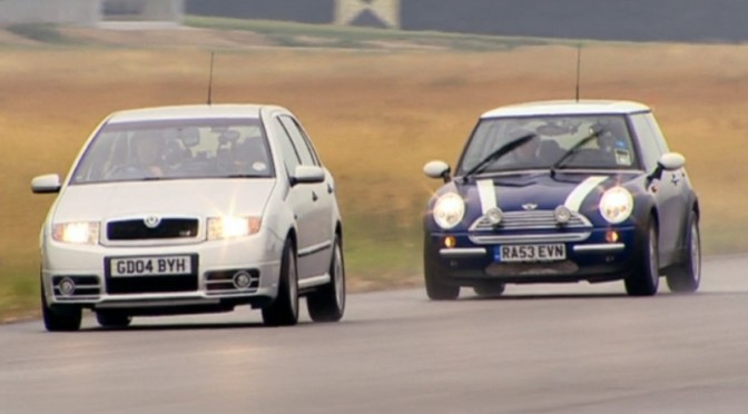 Top Gear 04-08: Škoda Fabia vRS vs Mini Cooper