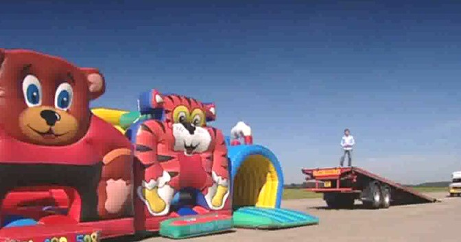 Top Gear 05-01: Can an ice cream van jump over bouncy castles?