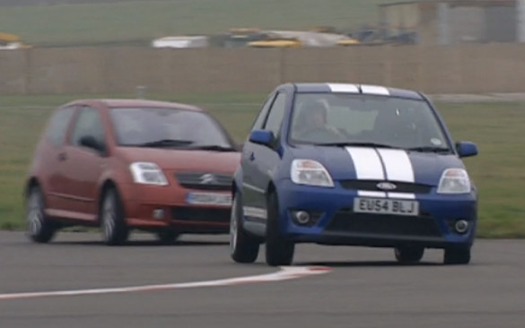 Top Gear 05-09: Ford Fiesta ST 150 vs Citroën 2C VTS