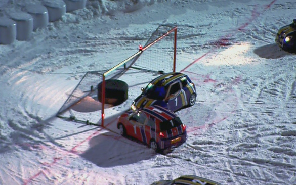 Top Gear Winter Olympics: Car Ice Hockey