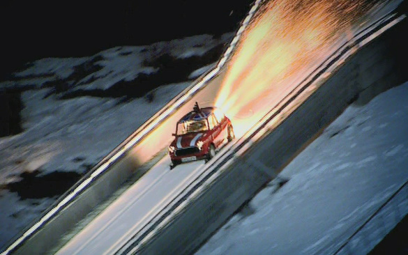 Top Gear Winter Olympics: Mini Ski Jump