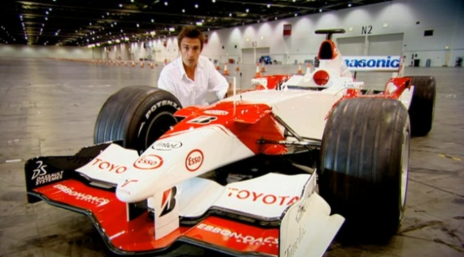 Top Gear 08-06: How Fast Can You Drive an F1 Car indoors?