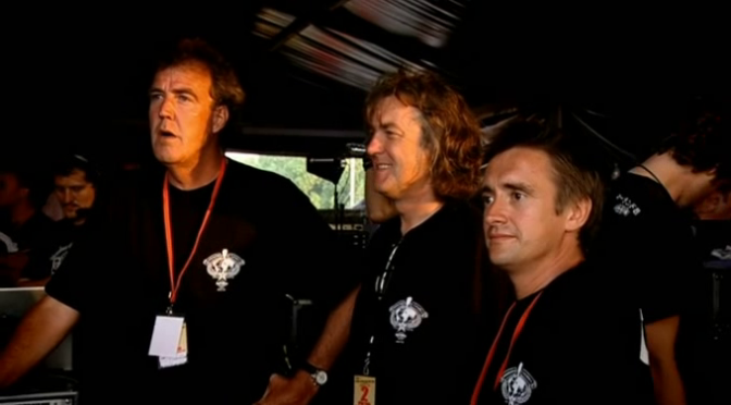 Top Gear 08-08: Being Van Roadies for The Who