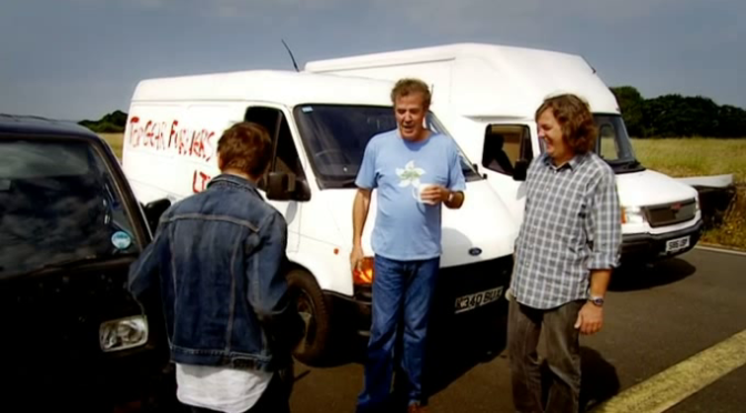 Top Gear 08-08: White Van Man Challenge