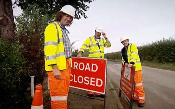 Top Gear 09-01: Roadworks in 24 Hours